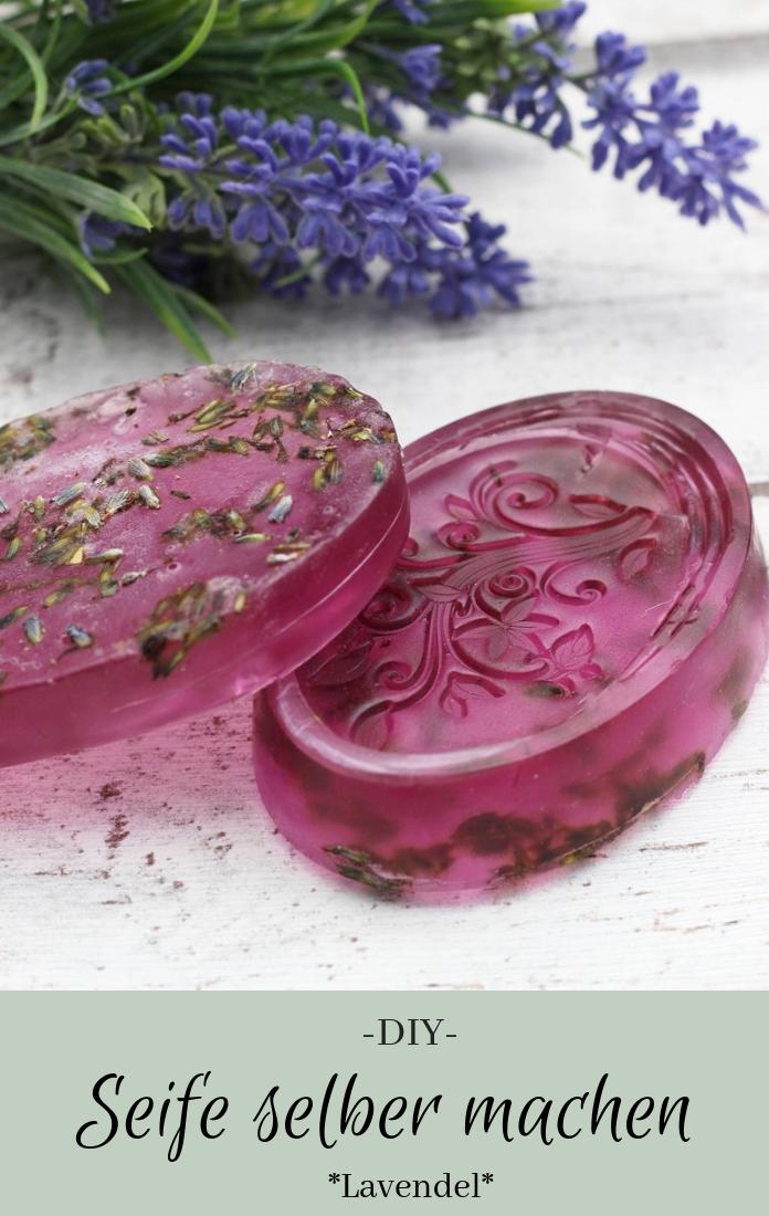 Seife selber machen: Anleitung Lavendelseife