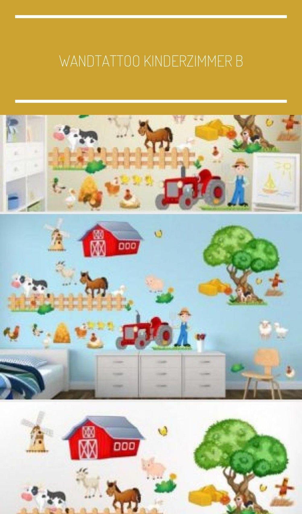 Wandtattoo Kinderzimmer Bauernhof Niedliche Tiere Mit Kuh Schwein Ziege Huhner Schafe Pfe In 2020 Wandtattoo Kinderzimmer Kindergarten Wandtattoos Niedliche Tiere