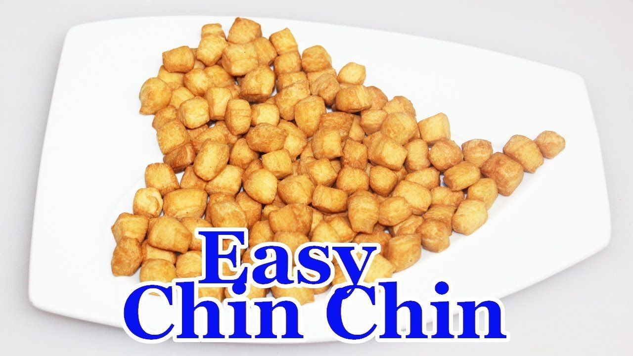 Easiest Nigerian Chin Chin Recipe Christmas Snack Youtube
