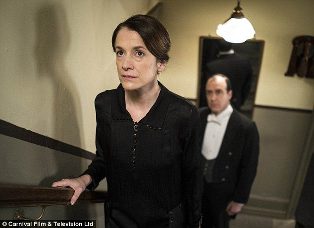 Torn: New ladies maid Phyllis Baxter (Raquel Cassidy) is forced to confess her sins to Lad...