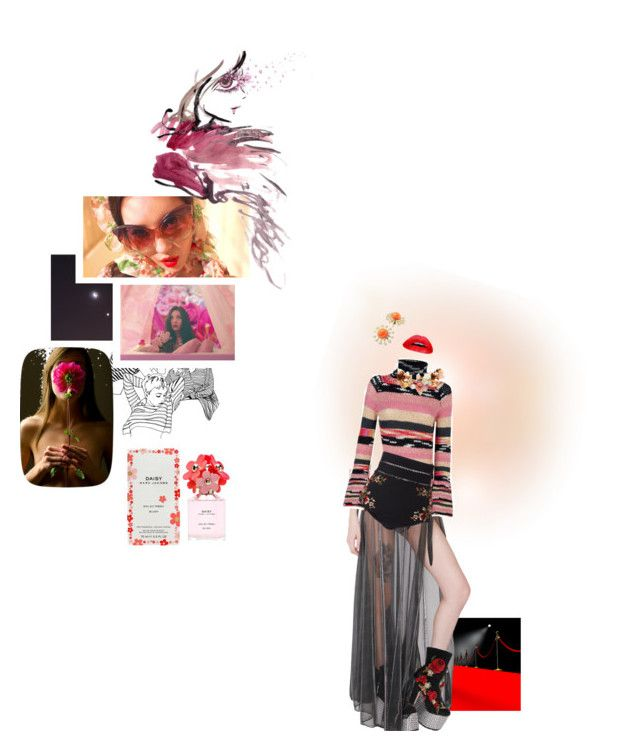 """""""Gashina Stage Outift"""" by willa-vanilla ❤ liked on Polyvore featuring K Too, Missoni, Zimmermann, Dolce&Gabbana, Trina Turk, Lizzie Fortunato and Marc Jacobs"""