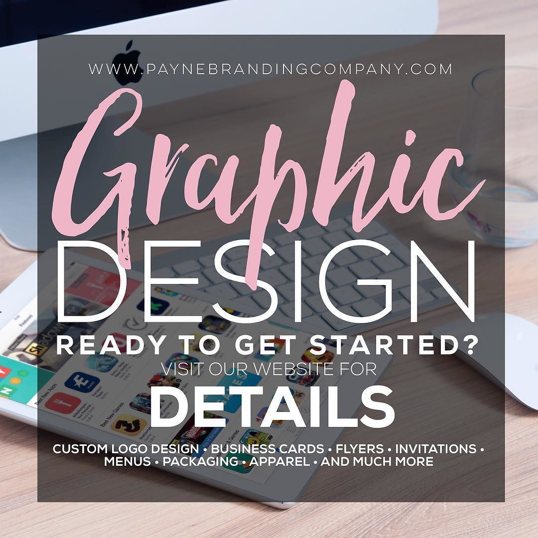 Everyone needs graphic design whether you are promoting your business or yourself. Ready to get started?! For more details on our graphic design services please click the link in our bio. @PayneBrandingCo #socialmedia #packages #business #customgraphics #posts #affordableprices #graphicdesign #ads #social #graphicdesigner #graphics #new#copywriter #copy #business #content