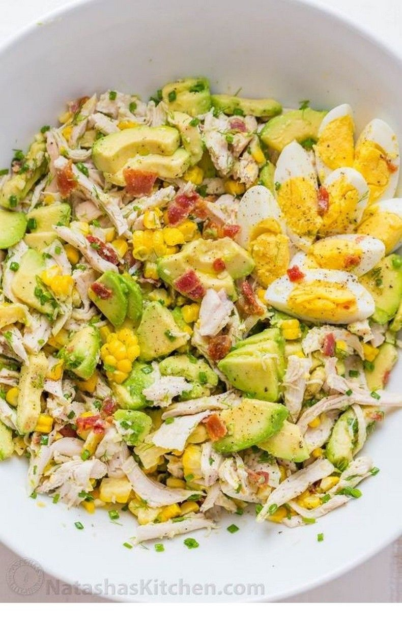 Avocado Chicken Salad Recipe | Avocado Recipes