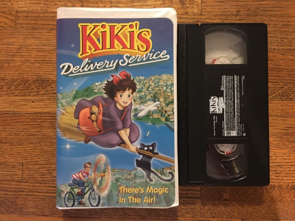 Pin by dami ventus on Girl Kiki's delivery service, Vhs