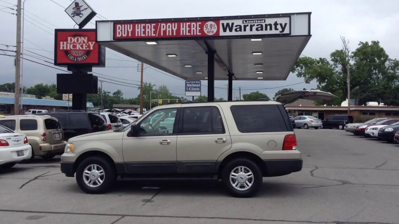 Best Used Car And Truck Dealer In Oklahoma City To Buy 2004 Ford Expedi Used Cars Ford Expedition Car