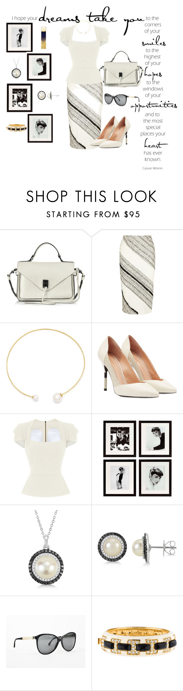 """dreams take you"" by mikaela-foreman ❤ liked on Polyvore featuring Rebecca Minkoff, Roland Mouret, Fallon, Eichholtz, Allurez, Chanel, Kenneth Jay Lane and Michael Kors"