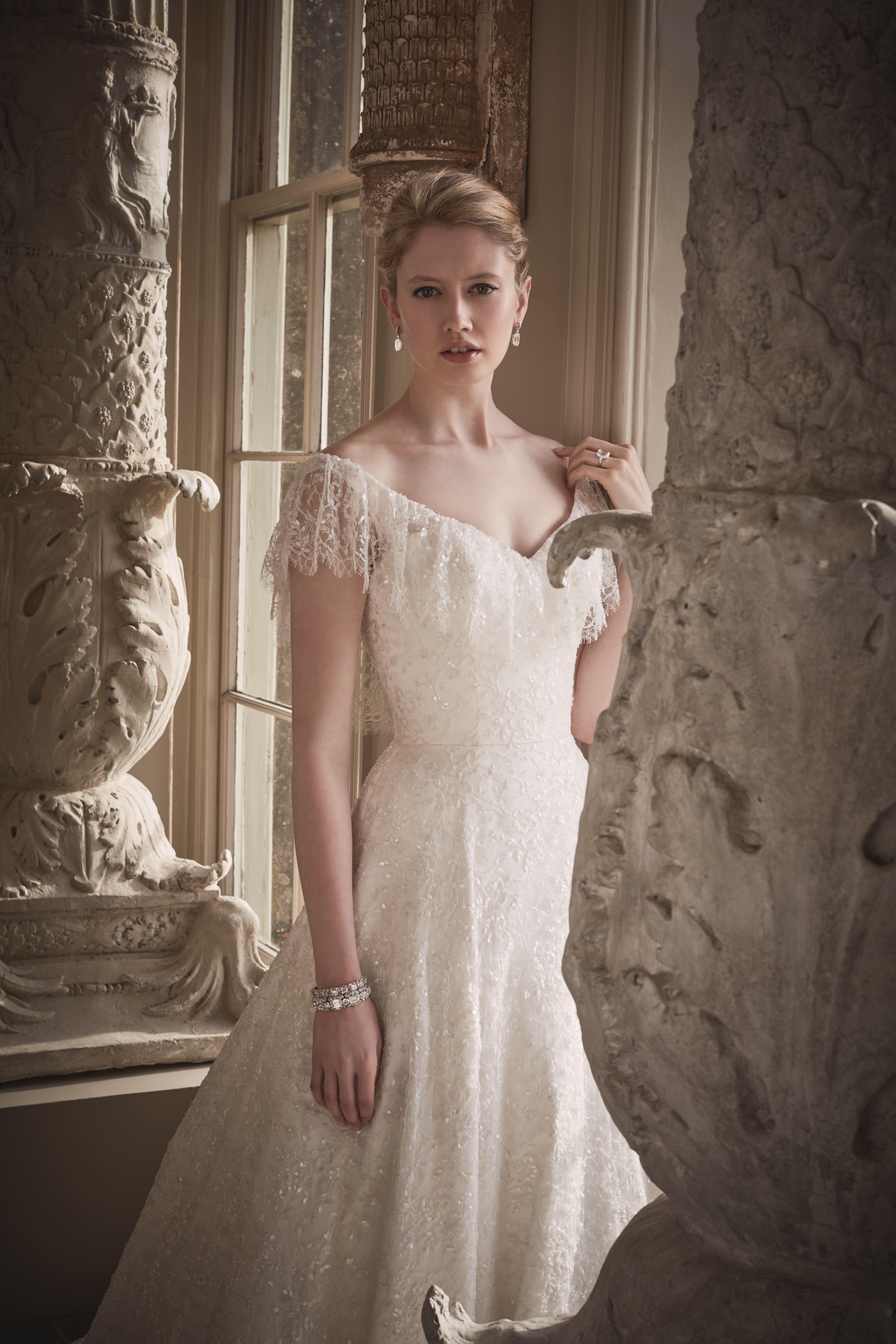 Phillipa Lepley Couture Wedding Dress London Uk Designer Bespoke Couture Alice Wedding Dress Couture Wedding Dress Necklines British Wedding Dresses