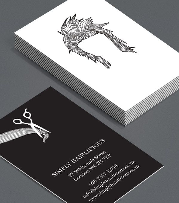 Browse Business Card Design Templates Business Card Design Hairstylist Business Cards Business Card Template Design