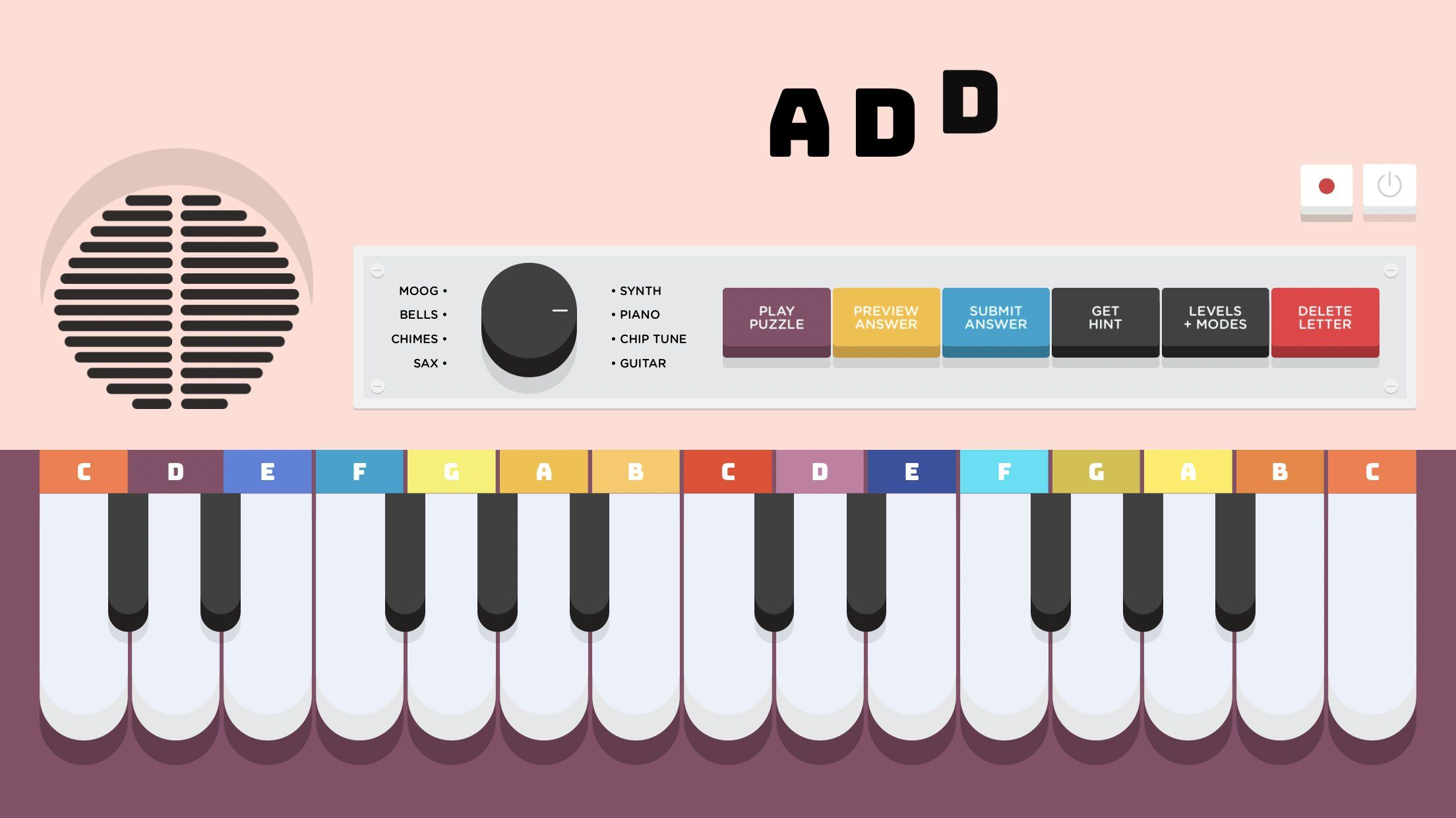 Lyrical Letters is a Word Game That's Music to Our Ears