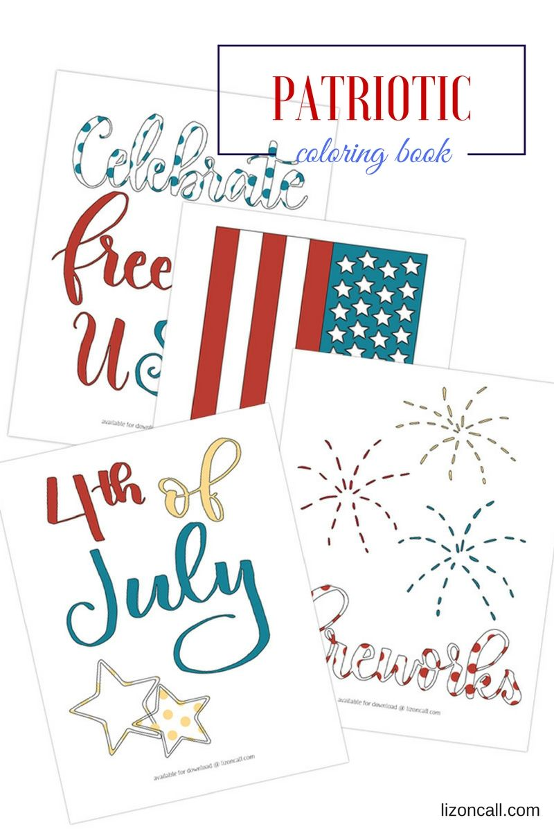 Free Patriotic Coloring Book The Group Board On Pinterest