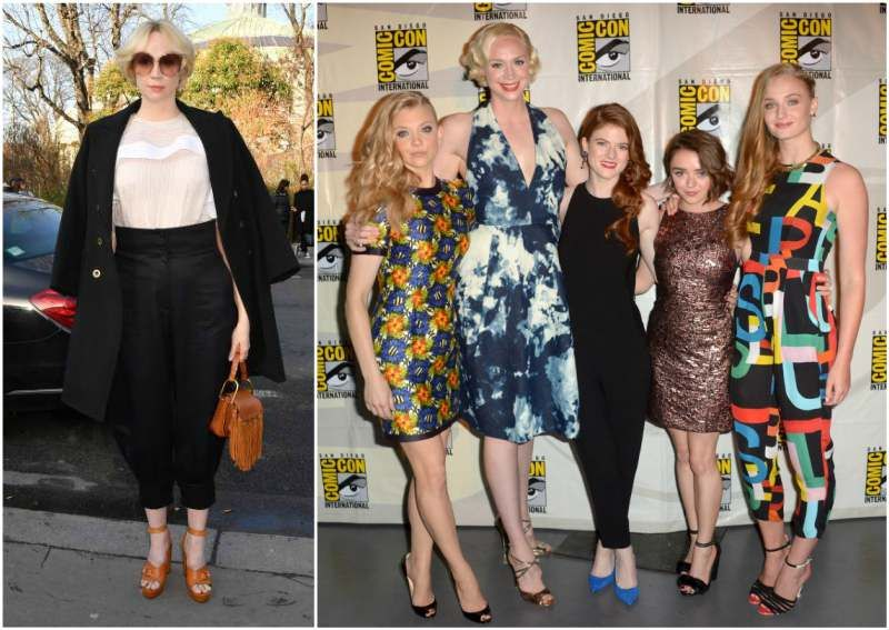 "Gwendoline Christie's height - 6' 3"" (191 cm) 