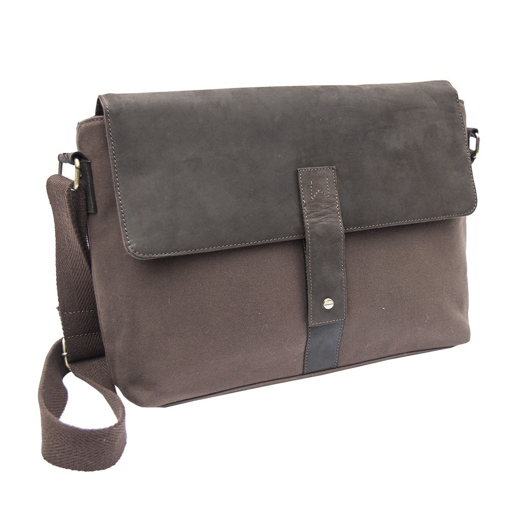 Waxed Canvas And Leather Messenger Bag The Ever Por Just Took On A Whole