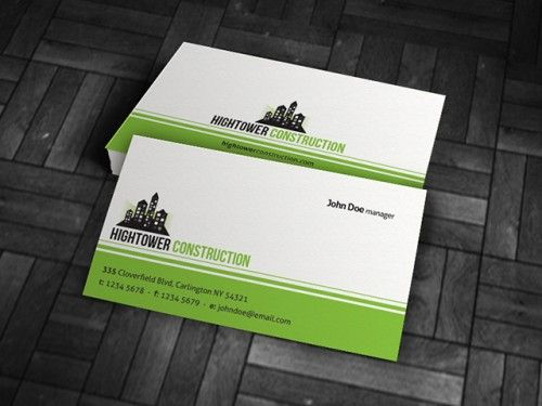 Cp00003 Corporate Construction Business Card Design Free Business Card Templates Free Business Card Design Business Cards Online
