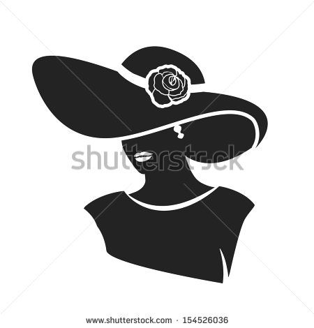 silhouette beautiful woman face vector - Pesquisa Google