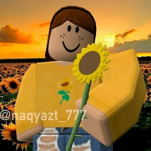 Sunflower Roblox Animation Roblox Pictures Cute Profile Pictures