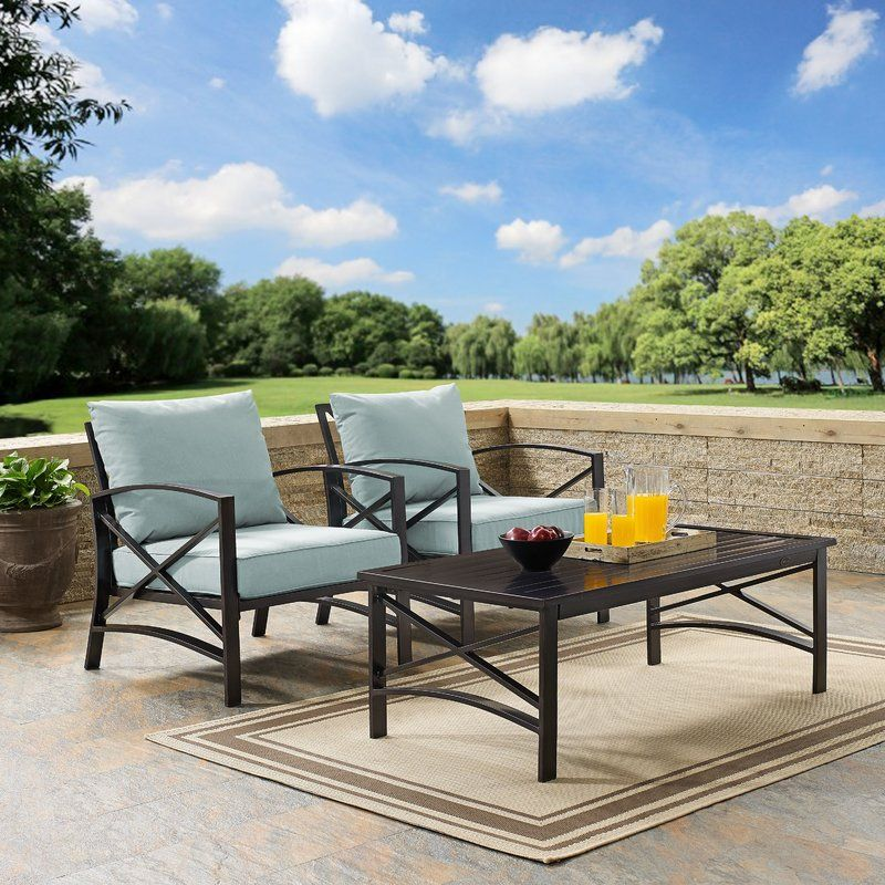 Dark Metal Outdoor Chairs And Coffee Table Love Metal For