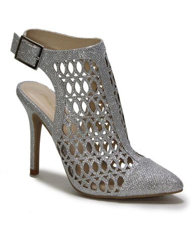 Look what I found on #zulily! Silver Monet Slingback #zulilyfinds