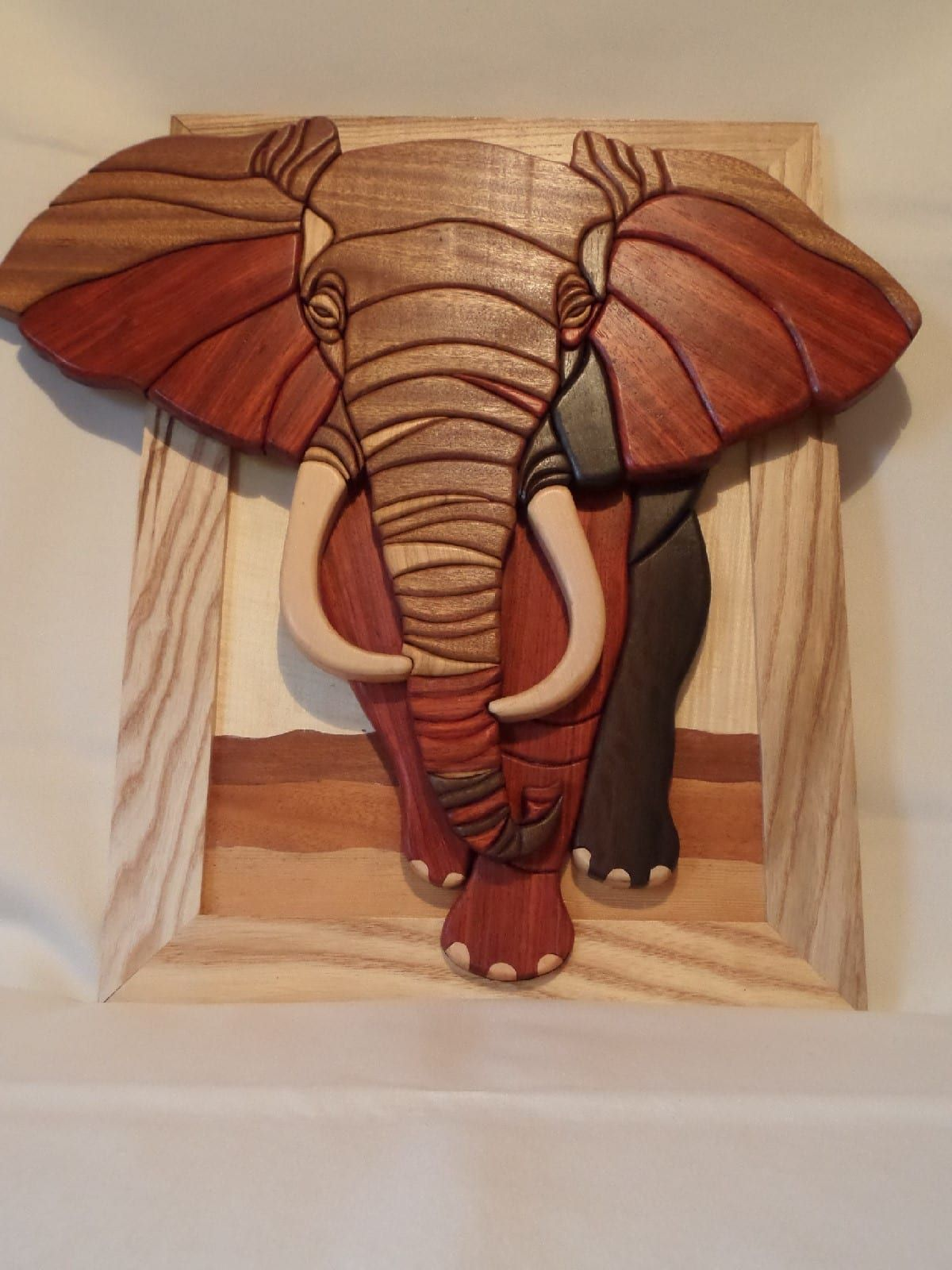 Wooden African Elephant Wall Art Whitlockwoodendesigns Com Intarsia Wood Patterns Intarsia Wood Wood Carving Patterns