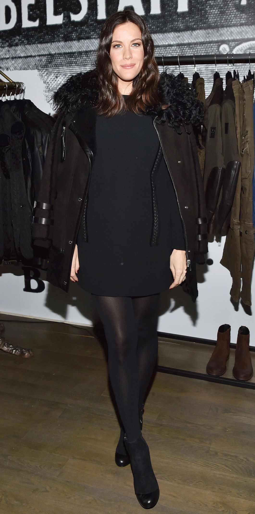 476eb9d56a7 Celebrate Liv Tyler s 39th Birthday with Her 13 Best Maternity Looks -  February 10