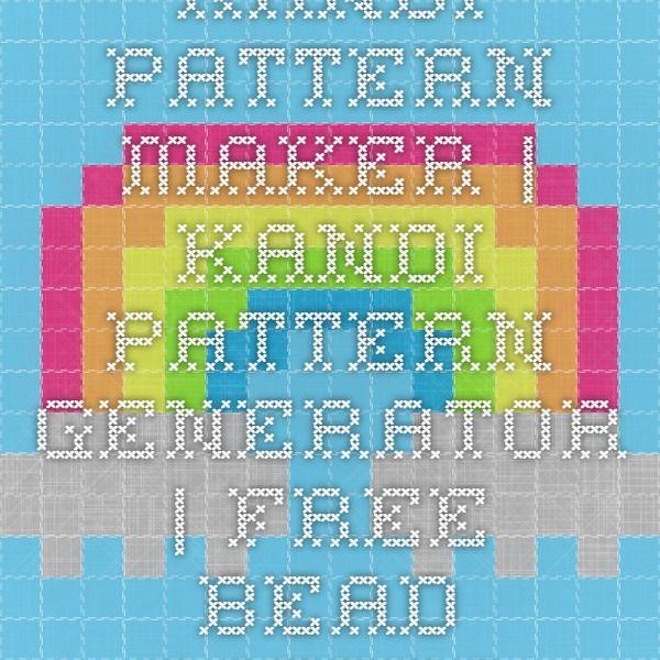 Kandi Pattern Maker Kandi Pattern Generator Free Bead Pattern