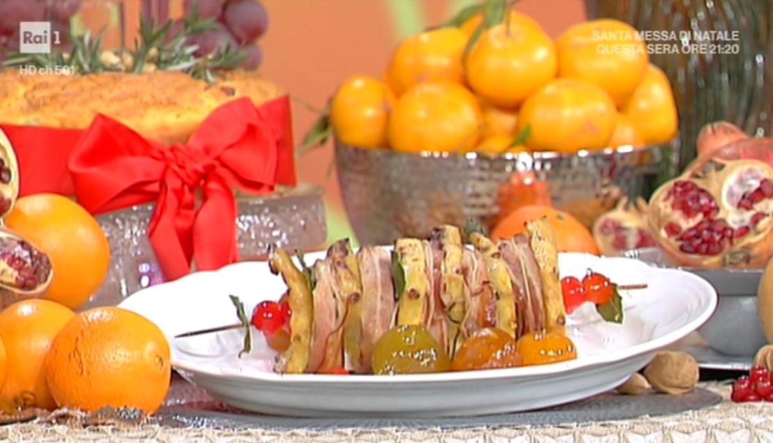 Stella Di Natale Benedetta Parodi.Domenica In Si Cucina Nella Domenica Pomeriggio Di Raiuno La