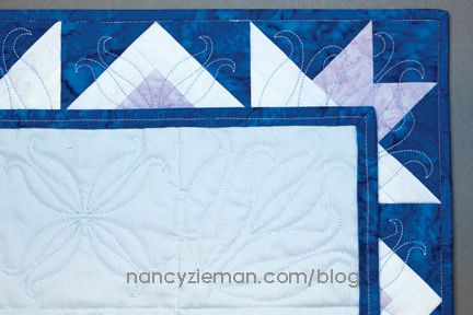 quilt and embroider with a flurry of snowflakes nancy zieman rh pinterest com