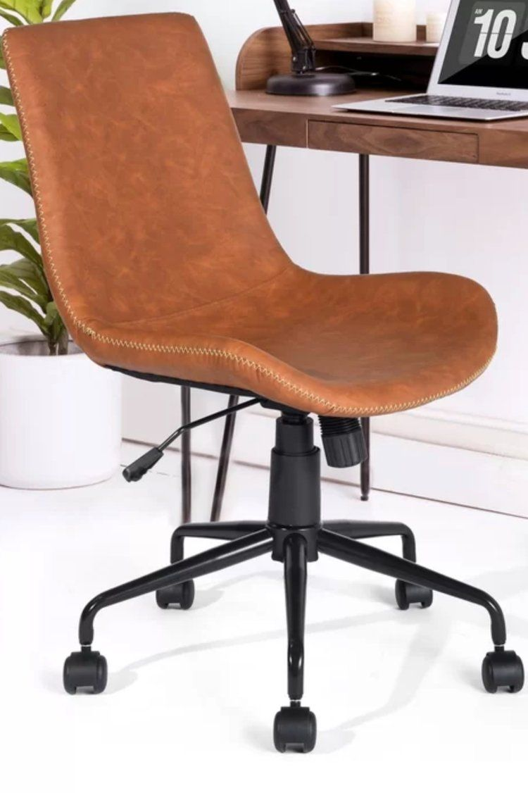 Modern Industrial Office Chair Roundup Miranda Schroeder Modern Office Chair Brown Leather Office Chair Industrial Office Chairs