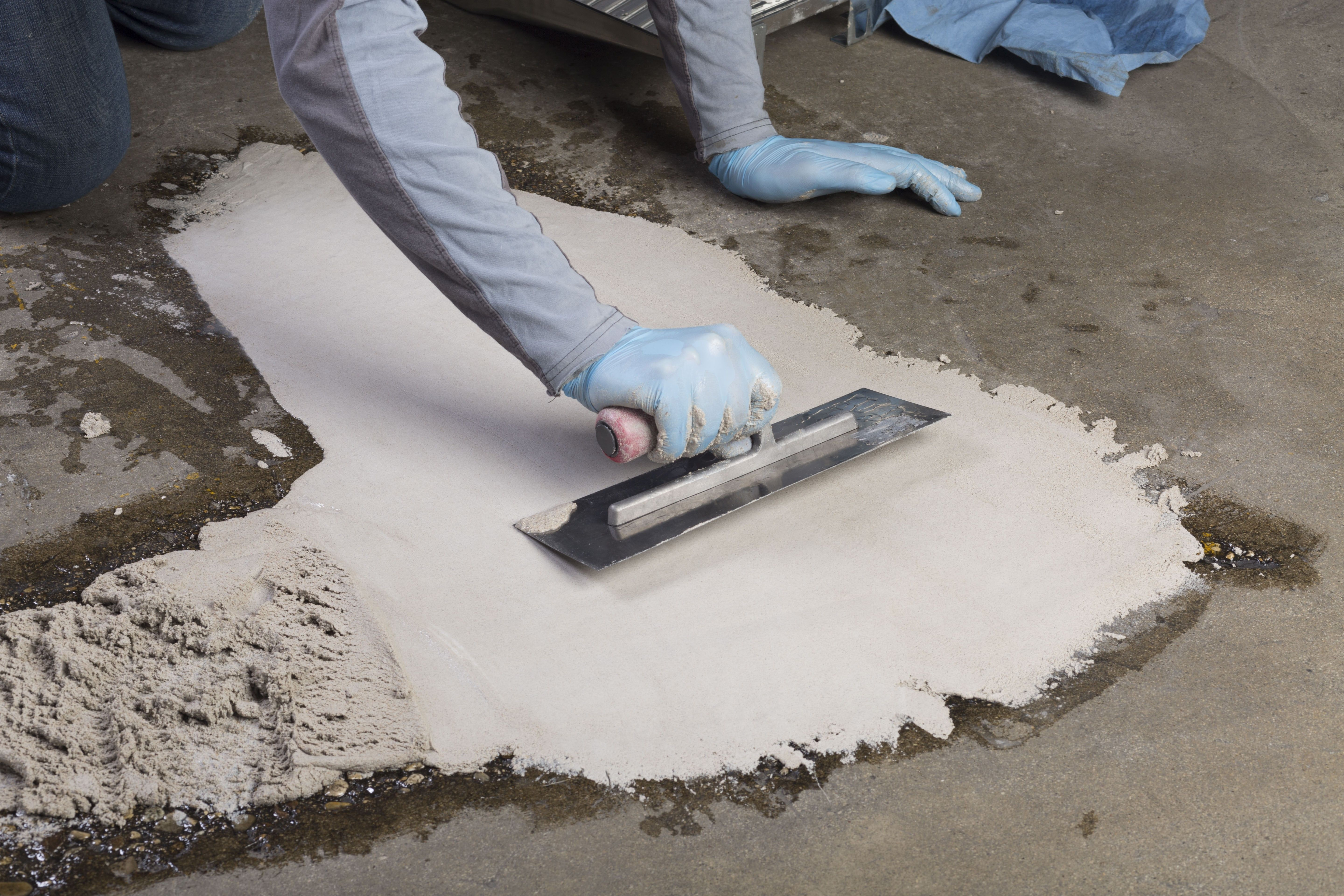 Concrex Epoxy Resin Mortar Concrete Hole Repair Over Twice The