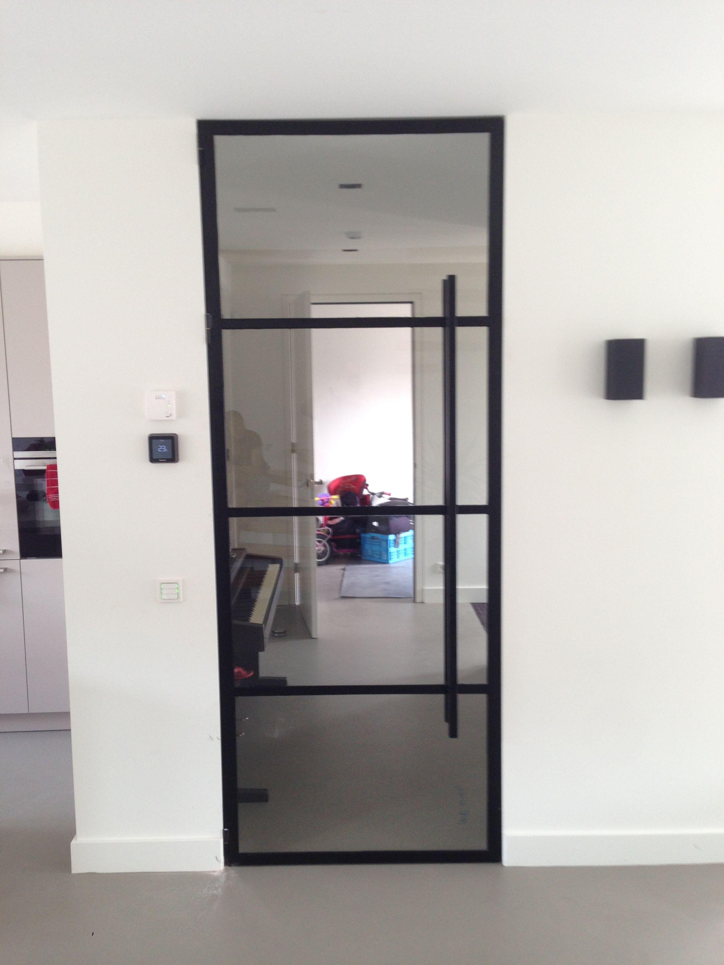 #amsterdam #strakke #steel #deurStrakke steel door Amsterd …