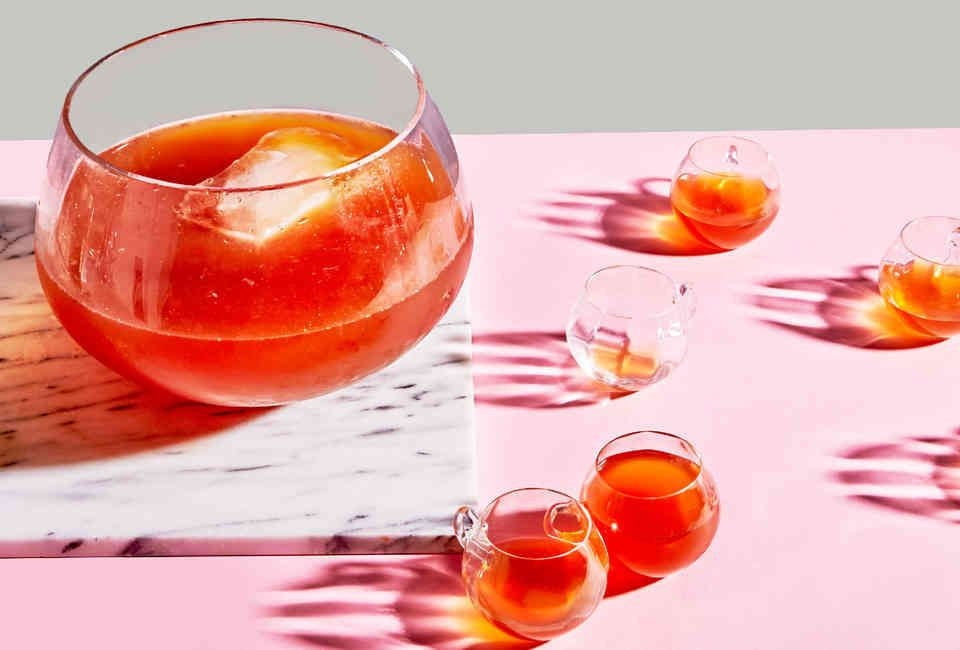 A Brief History of the Dangerously Boozy Chatham Artillery Punch #alcoholpunchrecipes