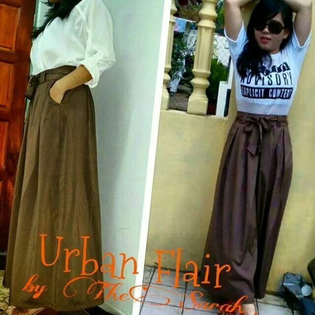 Urban style- long skirt