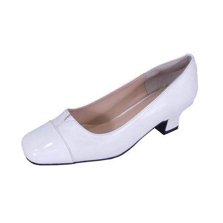 White pumps, Pumps, Wide width shoes