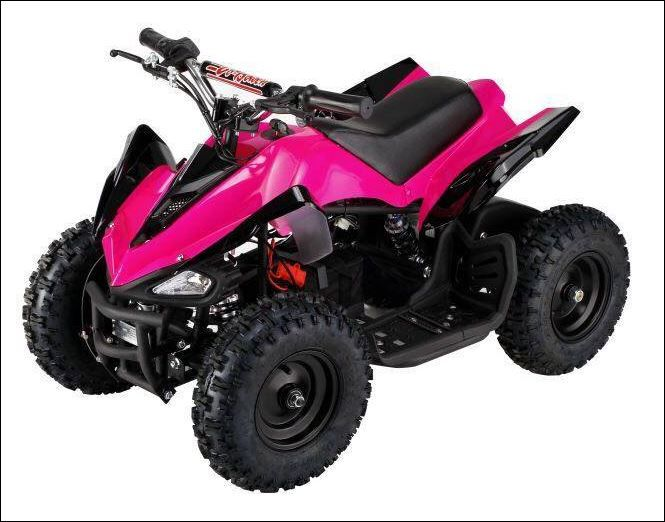 a188b02d780 Kids Electric ATV 350 Watt 24 Volt Battery Quad w Reverse-Mars ...