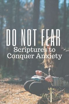 Scriptures to help defeat anxiety! Her Sword Victorious living for HER. Bible Studies and Devotionals