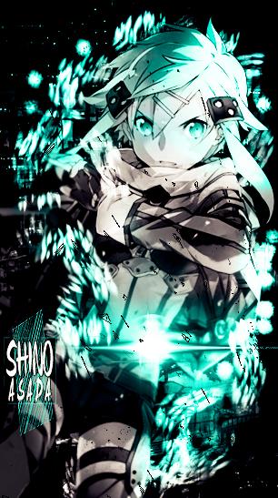 Blue-Black-White : Asada Shino Tag. by ZV-Goro on DeviantArt