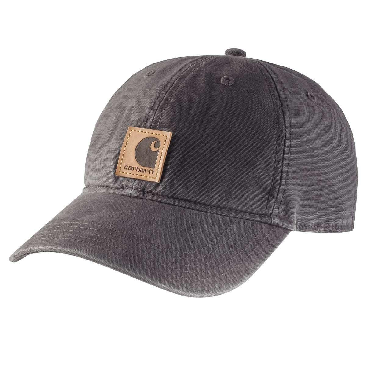 f90772375d1 Carhartt Men s Black Odessa Cap