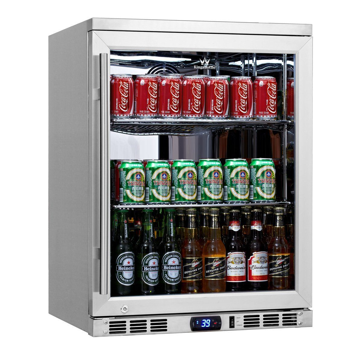 Keep Beverages Chilled And Close At Hand By Choosing This Magic Chef Beverage Cooler Stainless Steel