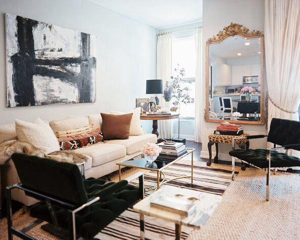 Charmant Hollywood Regency Living Room