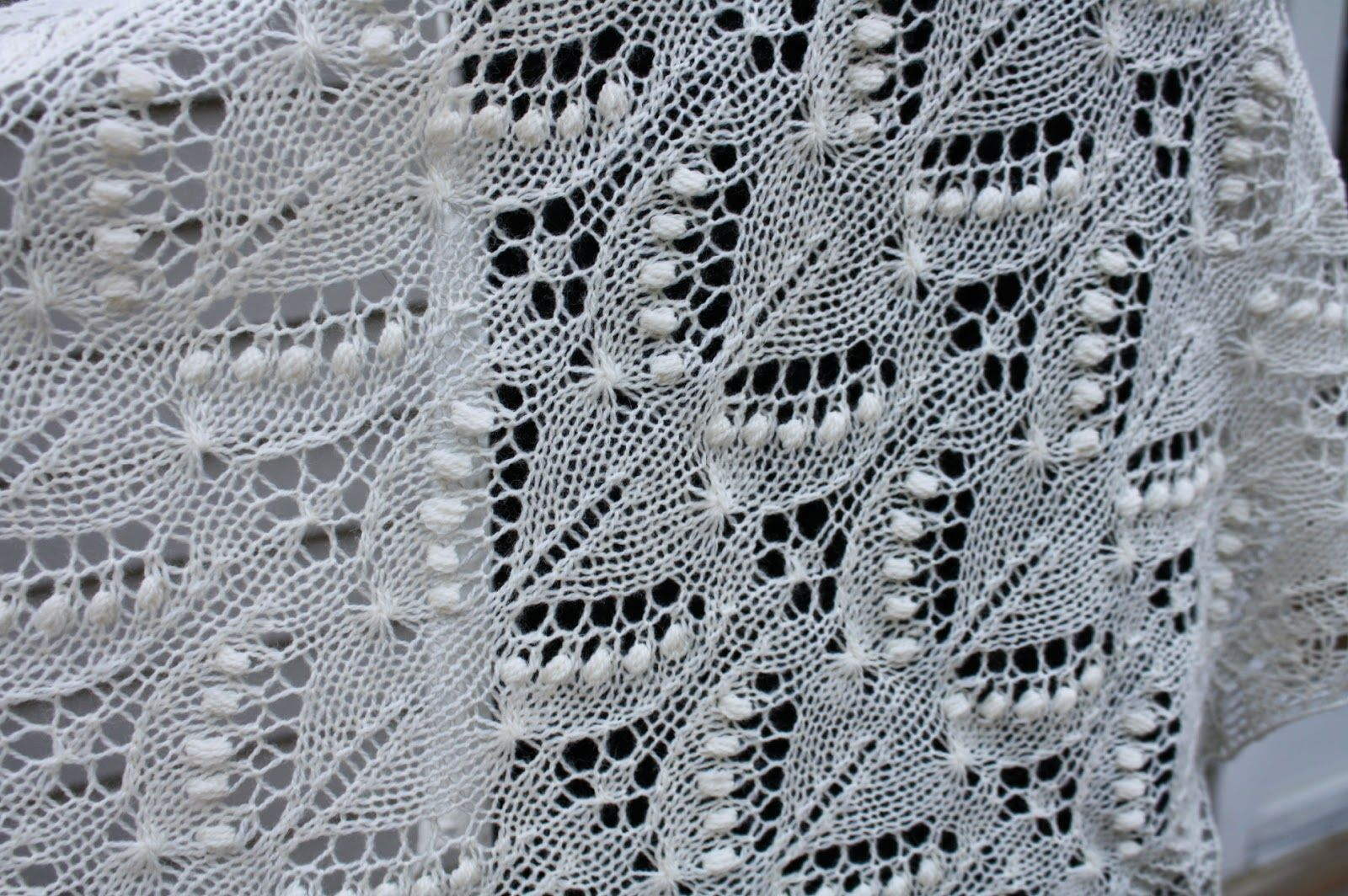 All Knitted Lace: Free Estonian Lace Pattern - Silvia - June Entry ...