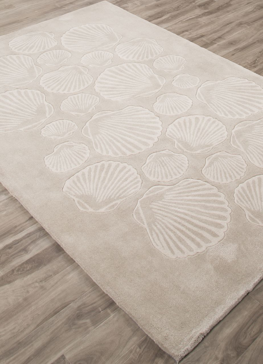 seashell coastal tides area rug chase away the winter blues and warm up any room