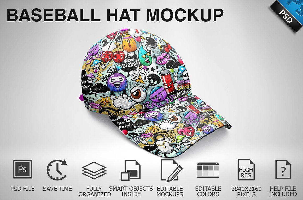 Download Baseball Hat Mockup 06 Baseball Hats Mockup Free Psd Mockup