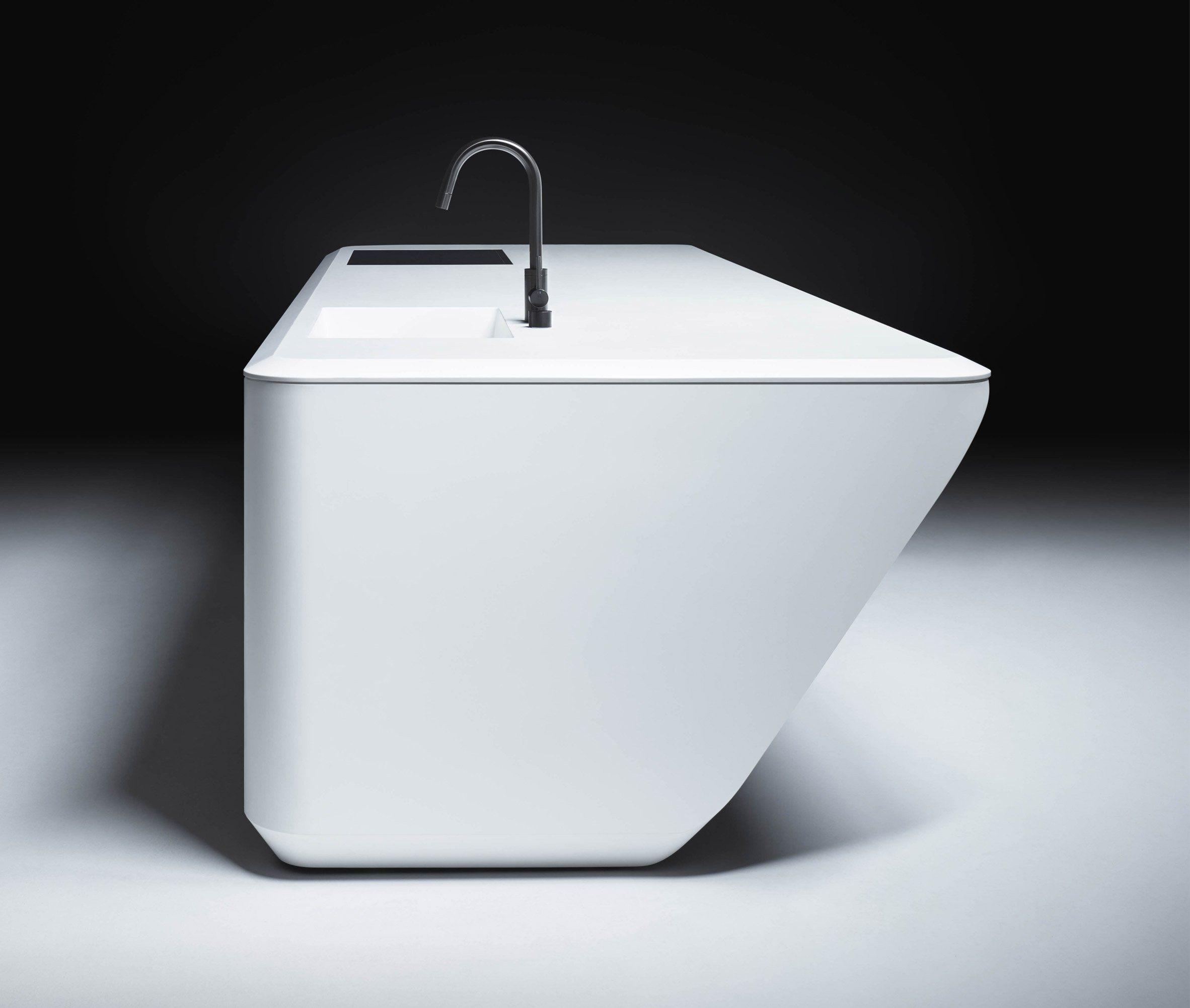 Zaha Hadid Architects Kitchens For New York Condo Building  # Muebles De Zaha Hadid