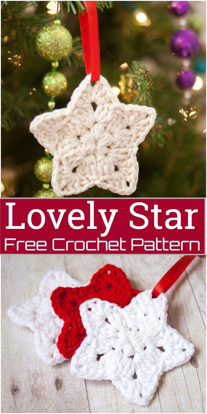 Free Crochet Star Patterns to Brighten Up Your Home | Crochet Patterns