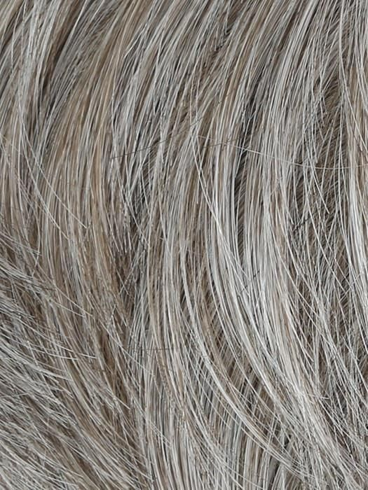 Chiseled Men's Wig by HairUWear #lightashblonde M51S - Light Ash Blonde With 50% Grey Blend #lightashblonde