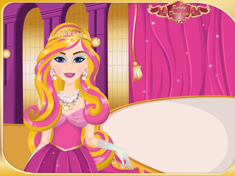 Barbie coiffure game