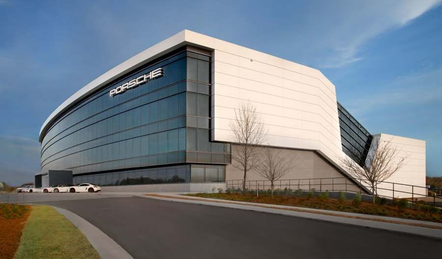 Porsche new Experience Center and Headquarters in Atlanta