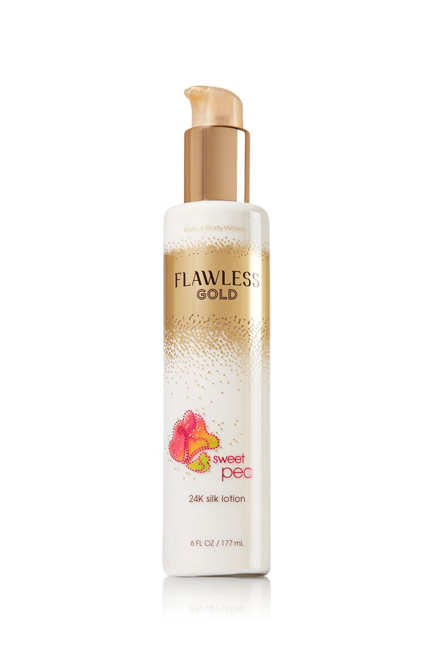 Sweet Pea Flawless 24k Silk Lotion Signature Collection Bath