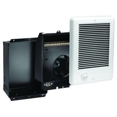 Cadet Com Pak 2 000 Watt 240 Volt Fan Forced In Wall Electric Heater In White Csc202tw Electric Heater Wall Mounted Heater Heater