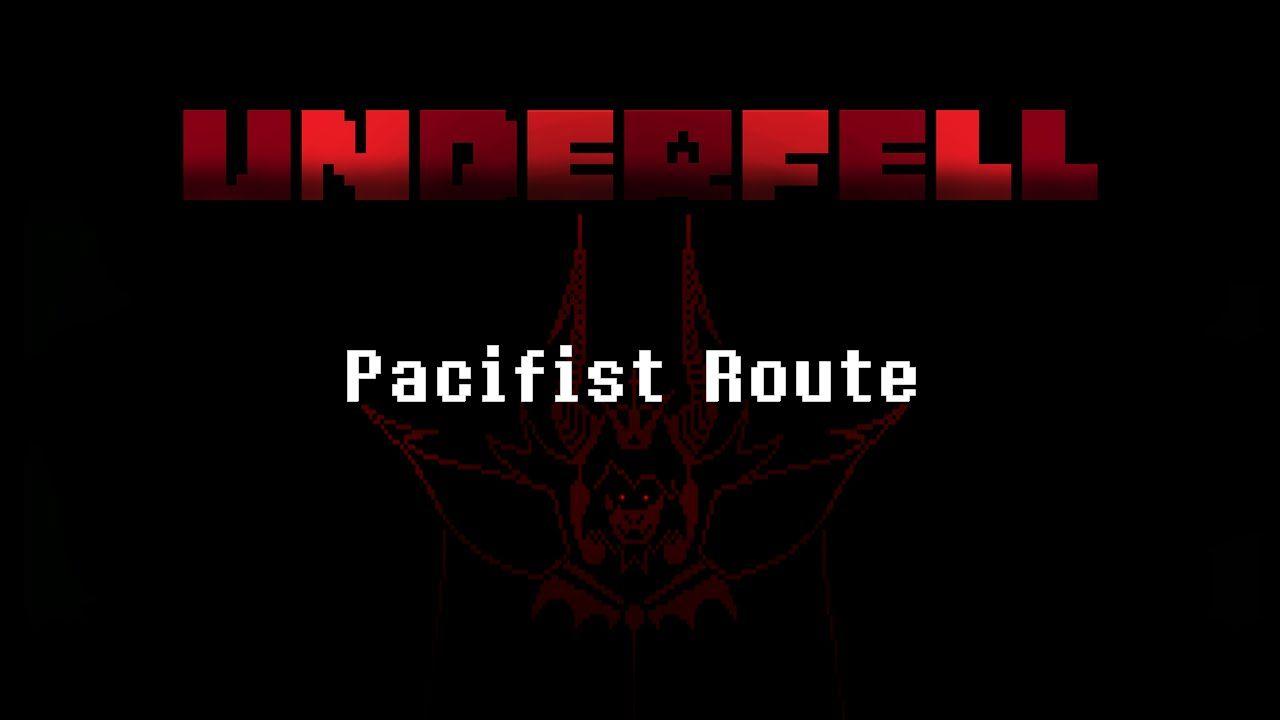 Underfell Asgore Fight (Pacifist) | UNDERTALE | Movie