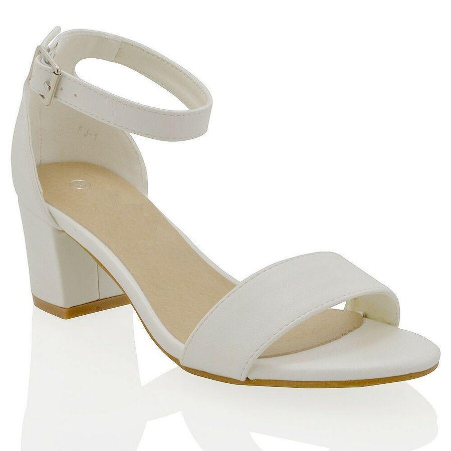 strappy heels, Ankle strap heels